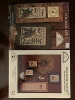 Homespun Elegance Cross Stitch Charts: Colonial Life I/ Homestead Band Sampler