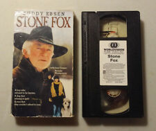 VHS Buddy Ebsen Stone Fox Joey Cramer Gordon Tootoosis dog sled race Wyoming