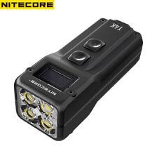 NITECORE T4K 4000 Lumens Portable Keychain Flashlight, Charging Via USB-C
