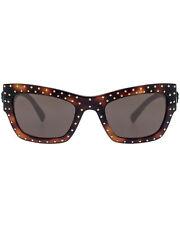 3 Day Sale Versace Havana Brown Women's Acetate Sunglasses VE4358-521773