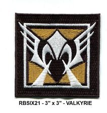 RAINBOW SIX OPERATOR PATCH - VALKYRIE- RBSIX21