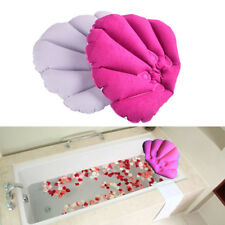Bathroom Inflatable Bath Spa Pillow Head Back Neck Cushion Bathtub RelaxingRdr