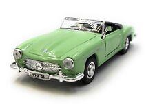 Coche a Escala Mercedes Benz 190Sl Oldtimer Verde Cabrio Auto 1 :3 4-39 (con