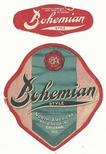 1920's Bohemian Style Label - Chicago, IL - Bosworth Products Co.