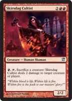 4 x SKIRSDAG CULTIST x 4 mtg Magic NM Innistrad Red