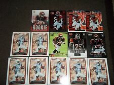 Lot of 14 Giovani Bernard rookie cards- Cincinnati Bengals - includes inserts