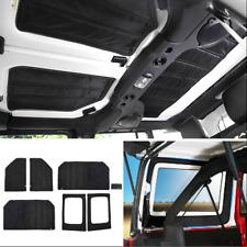 Hardtop & Tailgate Sound Deadener Headliner Insulation For 07-2010 Jeep Wrangler