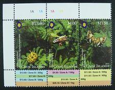 Cook Inseln 2014 Insekten Insects Falter Biene Käfer Bee Beetle 1990-1992 MNH