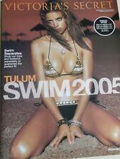 "Victoria's Secret 2005 Swim #3 "" TULUM "" Adriana Lima cover HOT & SEXY"
