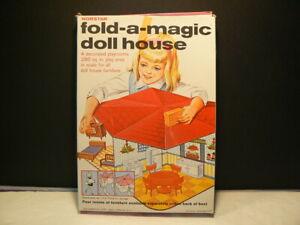 Fold-A-Magic Doll House, Norstar in Original Box