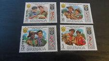 GRENADA 1972 AIRMAIL WORLD SCOUTS JAMBOREE. MNH
