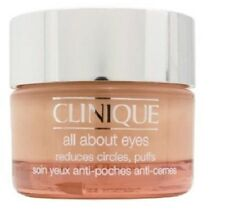 Clinique All About Eyes Reduces Circles, Puffs 30 ml / 1 oz- New In Box