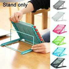 Adjustable Laptop Stand PC Desk Sofa Bed Computer Tray Tablet Cooling S1M8