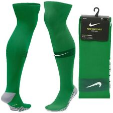 Nike Match Fit Knee High Soccer Socks Over The Calf XL 12-15 Green SX6836-302