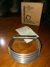 Pampered Chef Pastry Blender #1680 Stainless Steel MINT