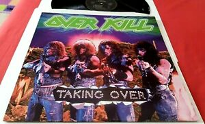 LP Overkill – Taking Over 1987 France 1st press on Accord NMint/EX+