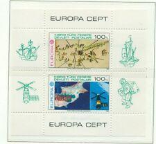EUROPA CEPT - NORTHERN CYPRUS 1983 Works of Ingenuity block