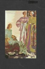Nostalgia Postcard Lorilleux & Bolton Fashion Catalogue  1937
