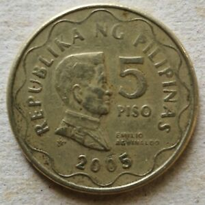 Philippines 2005 5 Piso coin