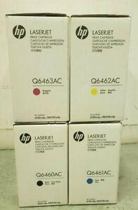 Brand NEW  HP TONER Q6460AC / Q6461AC/ Q6462AC/ Q6463AC PRINT CARTRIDGE