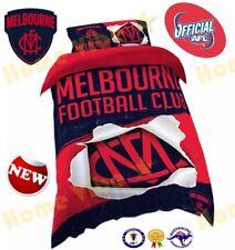OFFICIAL AFL 2018 MELBOURNE DEMONS QUILT DOONA DUVET COVER SET BRAND NEW SINGLE