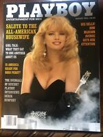 Playboy August 1992 Advertising Girl Talk Domestic Bliss Pictorial 166Pgs