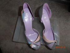 Faith multi colour peep toe shoes - new - size 7