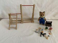 Sylvanian Families Eric Renard Fox Dad Tool Box DIY Playground
