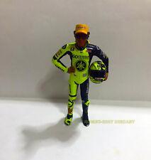 1:12 Conversión Minichamps Figure Figurine + Helmet Valentino Rossi 2005 Test
