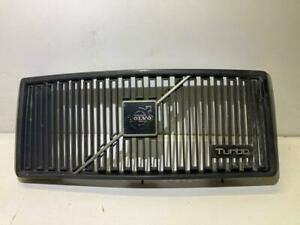 Volvo 240 Turbo Grille All Black Version 86-93 OEM RARE IPD Turbo 242 244 245 GL