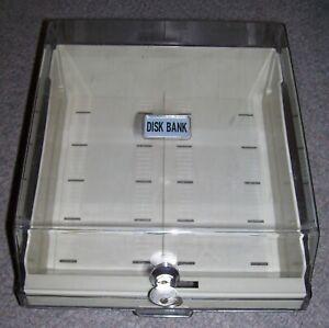 "Atari Amiga Mac PC Computer 3.5"" Floppy Disk Storage Box case 100+ Capacity"
