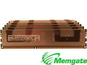 128GB (8x16GB) DDR3 PC3-8500R 4Rx4 ECC Reg Server Memory For Dell PowerEdge R510