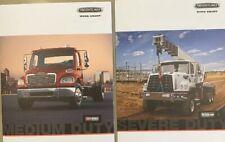 Lot/2 Freightliner Truck Brochures