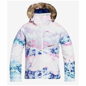 Roxy Jet Ski Girl SE Ski Jacket - White Pyrannes