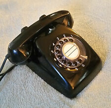 Japanese Retro Rotary Phone Vintage Telephone 600-A1 NEC Japan Collectible