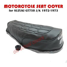 MOTORCYCLE SEAT COVER SUZUKI GT750 GT 750 L M A B KETTLE LATE MODEL 1974-1977