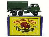 Matchbox Lesney No.62a AEC General Service Lorry In Type 'B3' Series MOKO Box