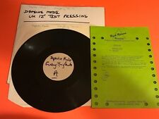 DEPECHE MODE EVERYTHING COUNTS UK 12 TEST PRESS W/SHEET TOWNHOUSE