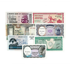 New listing Set of 7 different Africa Au-Unc. special purchase