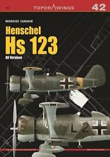 Kagero Topdrawings 42: Henschel Hs 123 All Versions