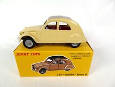 Citroën 2 CV Modèle 61 - DINKY TOYS DeAgostini VOITURE MINIATURE MODEL CAR - 558