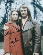 ROGER MOORE & CATHERINE SCHELL SIGNED THE PERSUADERS 8x10 PHOTO - UACC AUTOGRAPH