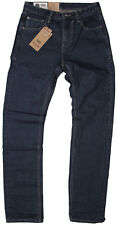 New Ben Sherman Mens Jeans Tapered in Dark Blue Colour Size 36/34
