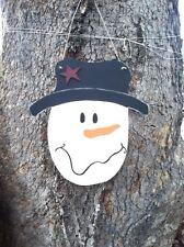 Wooden Snowman Door Hanger