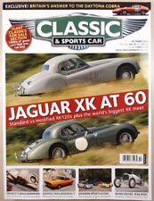 Classic & Sports Car Magazine 2008 Oct Jaguar XK Challenger R/T Willment Coupe