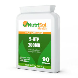 NutriSol Health Griffonia Seed Extract | 5-HTP 200mg