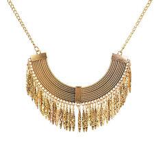 Fashion Charm Pendant Chain Crystal Jewelry Choker Chunky Statement Bib Necklace 17