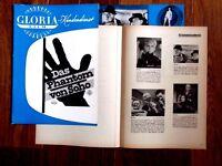 Das Phantom von Soho  Original Promotion Stuff Edgar Wallace,CCC Film  P.Vogel