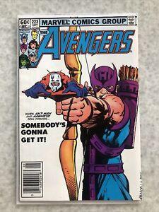 Avengers 223. Newsstand.  VF/NM Copy