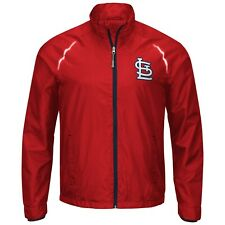 G-III Sports St. Louis Cardinals Men's Interval Full Zip Jacket - Red